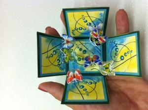 Škatlica presenečenja z metulji