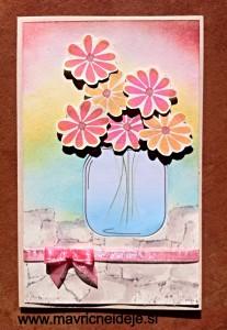 Cvetje v kozarcu