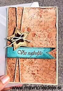 Masculine card  handmade