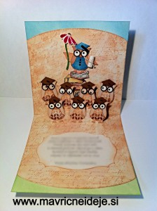 Stampin' up owl card