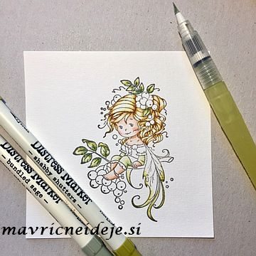 Distress markers Bundled sage, Shabby shutters
