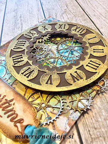 Mans card steampunk
