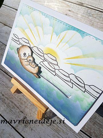 MFT Otterly love you slider card
