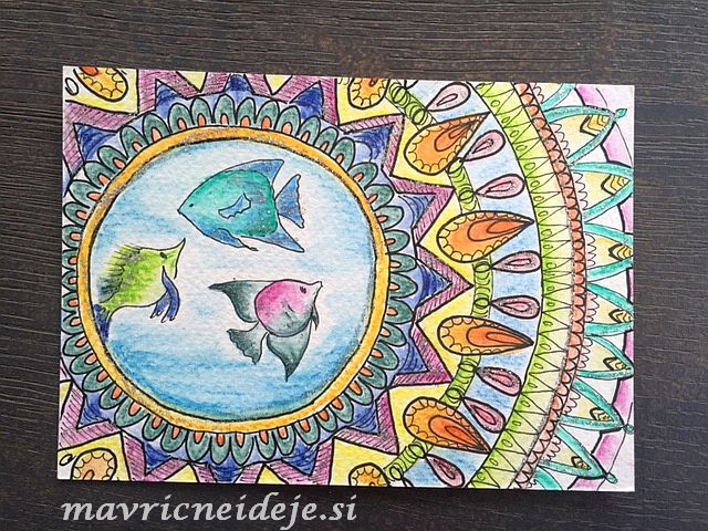mandala ribice