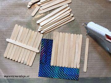 Poravnava lesenih palčk