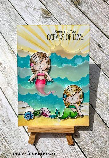 Sending oceans of love