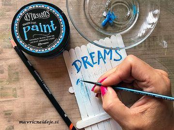 Pisanje z akrilno barvo