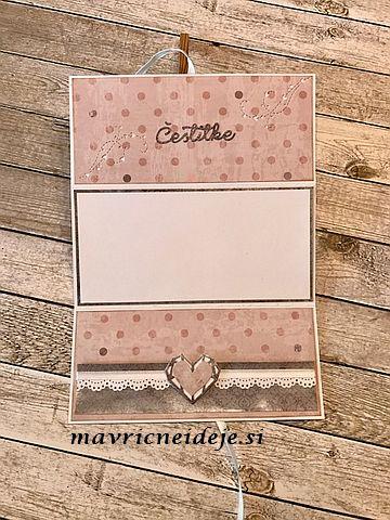 Poročna darilna kuverta
