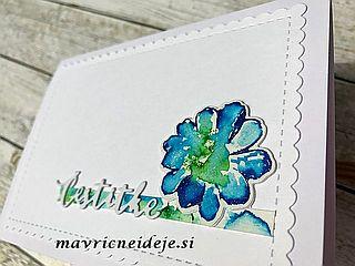 Najlepsipar, Altenew stamp, Spectrum Noir Sparkle