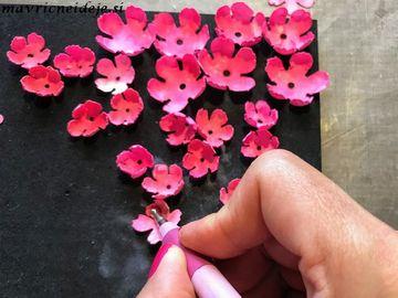 Oblikovanje cvetnih listkov