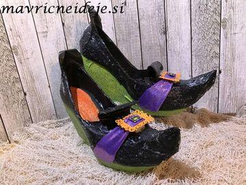 Čarovniški čevlji s polno peto