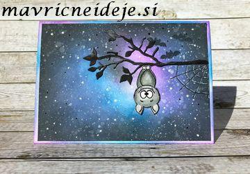 Gerda Steiner bast stamp set galaxy card
