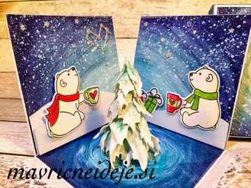 22 Polarna medveda v šakatlici