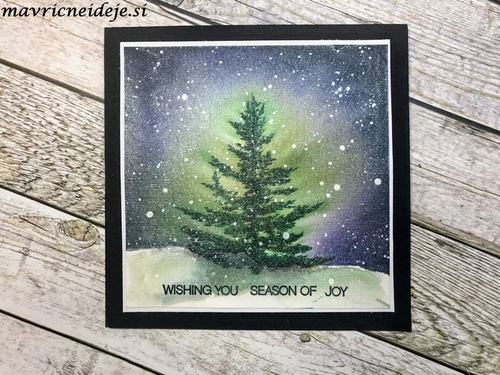1 Penny Black Winter scene b