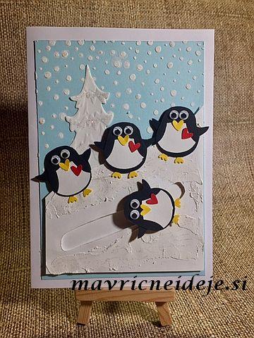 Stampin Up! Pinguin card