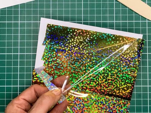 11 Gina K. Fancy Foils voščilnica