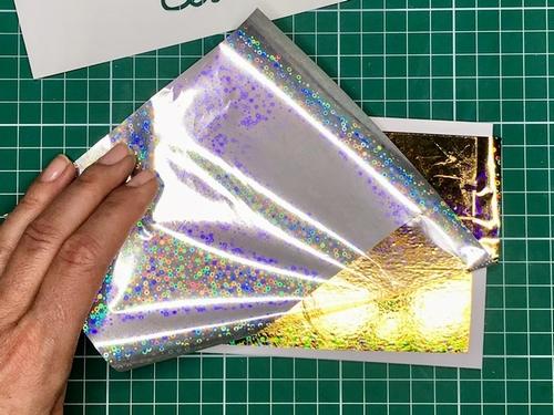 12 Gina K. Fancy Foils voščilnica