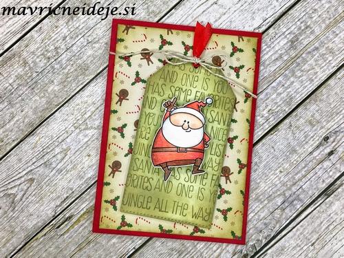 Wobbling Santa