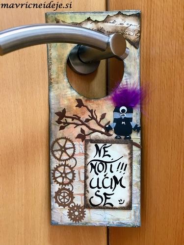 Obešanka za na vrata
