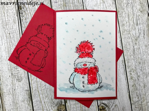 Penny Black Snowy card 1