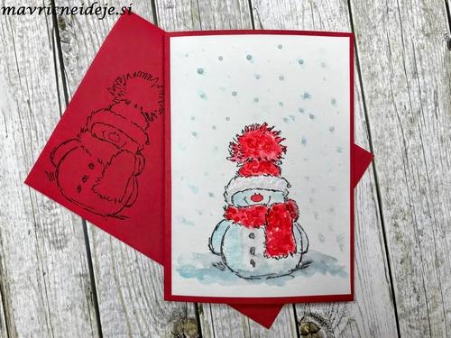 Penny Black Snowy card 1