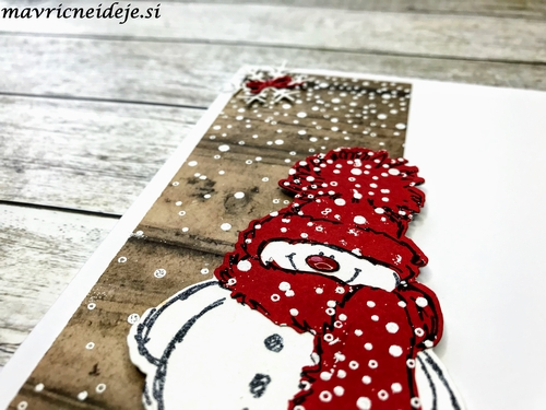 Penny Black Snowy winter card