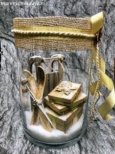 Winter Wonderland - gift in the jar 1